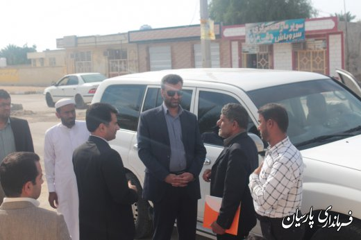 دکتر میرزاد فرماندار پارسیان ، : خدمت به مردم از وظایف مهم مسئولین و تاکید ویژه دولت محترم است.