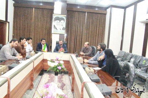 فرماندار پارسیان : روابط عمومی زبان گویای اداره است