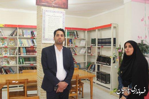 مهندس رضاپور فرماندار پارسیان : کتابخانه ها پایگاه فرهنگی هرجامعه ای هستند