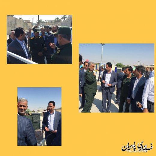 افتتاح پارک محله ای شادی بمناسبت هفته دولت در شهر پارسیان