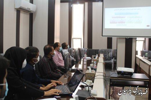مهندس رحیمی معاونت محترم سیاسی ، امنیتی و اجتماعی فرمانداری شهرستان پارسیان: حوزههای نظارتی، نظارتها را در امر رعایت پروتکل های بهداشتی تشدید کنند.