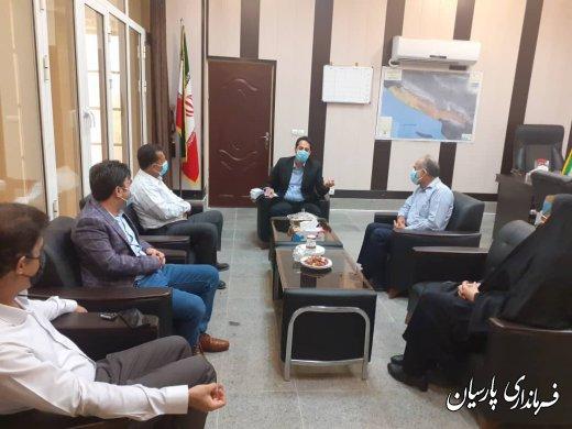 اعضای شورای جدید شهر پارسیان  با همکاری و تعامل سازنده خود با مسئولان مختلف شهرستان زمینه رشد، توسعه و رفع کمبودها را فراهم نمایند.